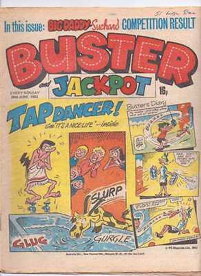 Buster (and Jackpot) Comic. 26th June 1982