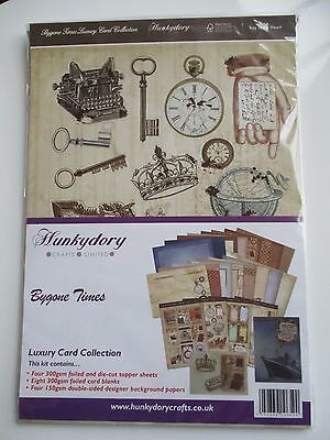 Hunkydory - Bygone Times Luxury card collection