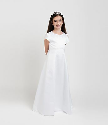 First Holy Communion Sweetheart Dress Age 8