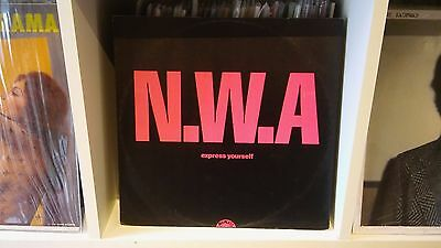 "NWA - Express Yourself UK 12"" Single"