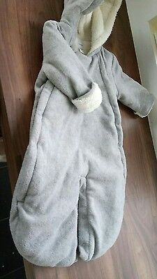 Baby Gap snow suit,  3-6 months,  grey and cream to suit girls or boys unisex