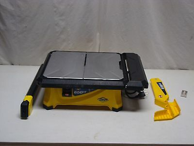 QEP 3/4 HP Wet Tile Saw with 7 in. Diamond Blade #3