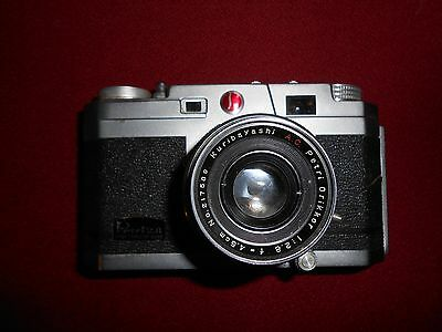 Vintage Camera, PETRI 2.8, Color corrected Super, 2.8, 45mm, 1950's,Japan