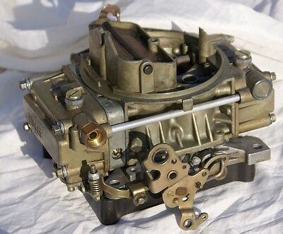 Rebuilt Holley carb 600 cfm List 1850 for Ford Chevy  V8 Very Low Miles