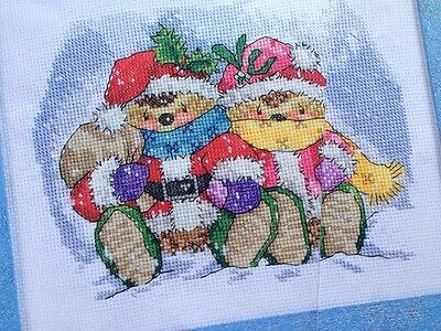 Christmas Country Companions Cross Stitch Chart
