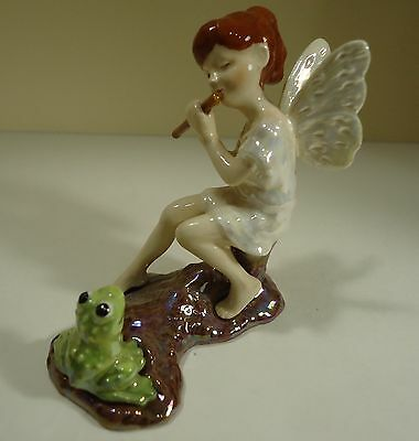 Hagen Renaker Speciality Figurine of a Fairy Playing a Flute