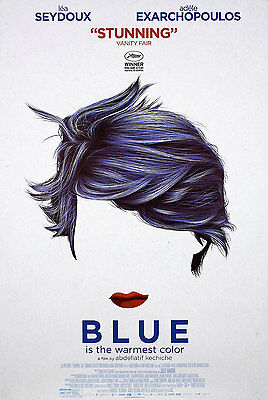 Blue Is the Warmest Color 2013 U.S. One Sheet Poster