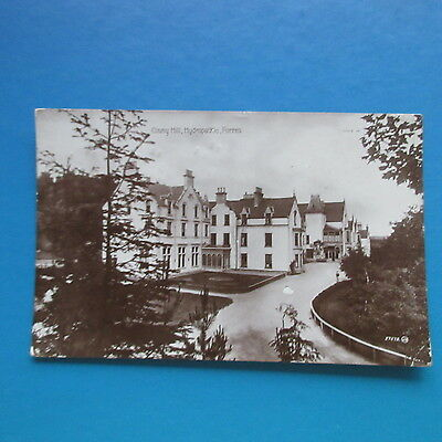 Old Postcard of Clunny Hill, Hydropathic, Forres.