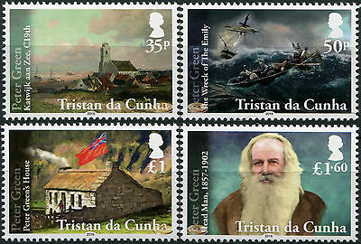 Tristan DaCunha. 2016. Peter Green and the Wreck of the Emily (MNH OG)