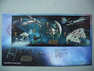 Star Wars First Day cover