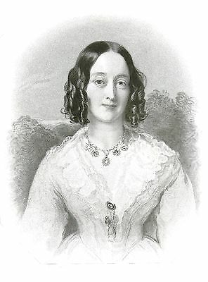 The Duchess of Buccleugh (Court of Queen Victoria) After Sir W. C. Ross - 1845