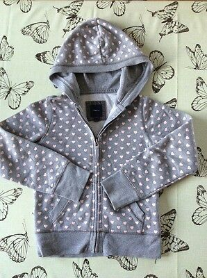 GAP girls grey hoodie. Age 8-9