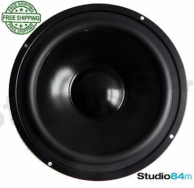 8 inch 60W Magnetically Shielded Bass Mid Range Black 218MM Speaker - NEW