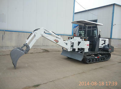 NEW 1.8T MINI XW-16 Hydraulic Crawler Excavator Bulldoz Shipped by Sea