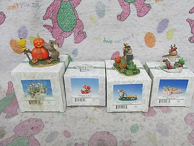 Charming Tails Lot of 7 Pieces & some in boxes