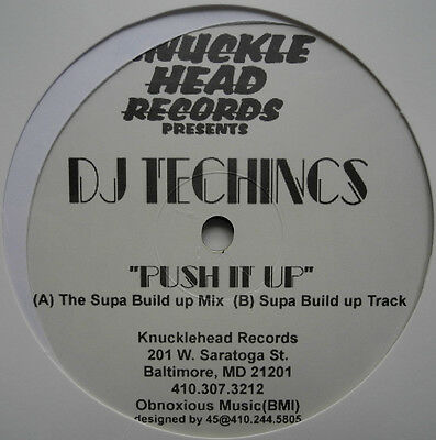 "★★12"" Us**dj Technics - Push It Up (Knucklehead Records / Sealed)★★23223"