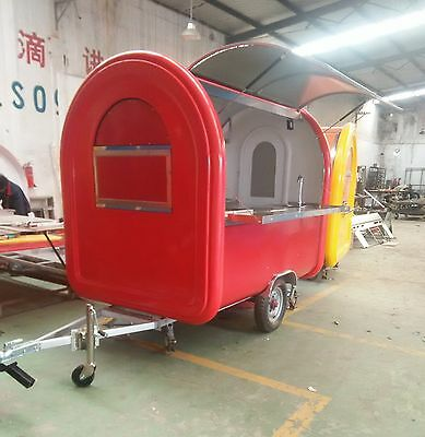 Brand New Concession Stand Trailer Mobile Kitchen Free Sea Shipping