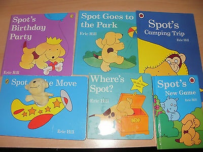 6 spot the dog books 3 lift the flaps 1 finger puppet 2 story read gc