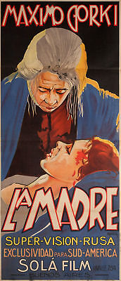Mother 1926 Argentine Poster