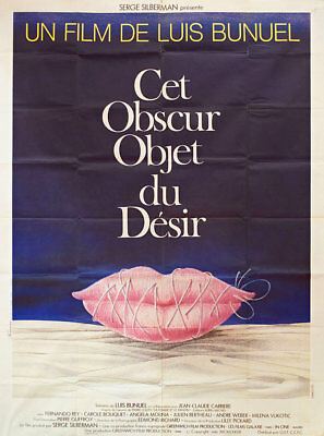 That Obscure Object of Desire 1977 French Grande Poster