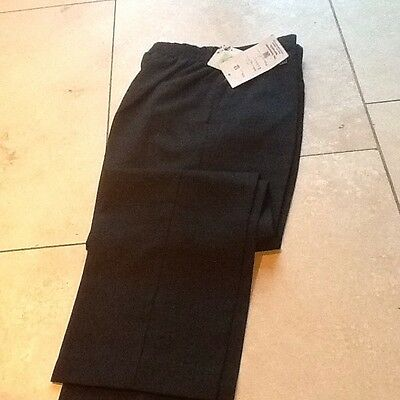 Charcoal Grey Boys School Trousers Age 13
