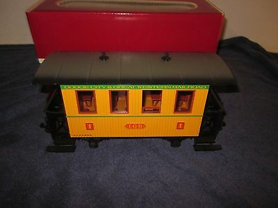 LGB 3006 G Scale Dodge City & Great Western Railroad Coach Passenger Car