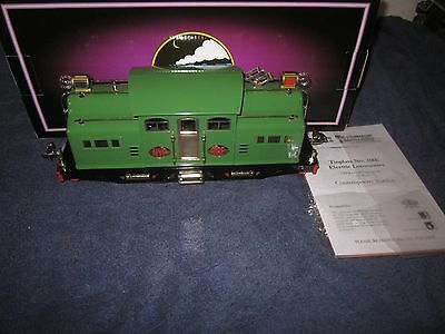 MTH 10-1272-1 318E Pea Green 0-4-0 Electric Locomotive w/Proto-Sound 2.0 MIB