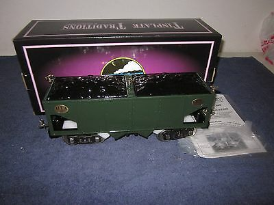 MTH 10-1053 200 Series 216 Standard Gauge Green Hopper W/Brass Trim MIB