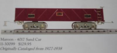 Lionel Corp. MTH 11-30099 American Flyer Std. Gauge 4017 Sand Car MIB #SS