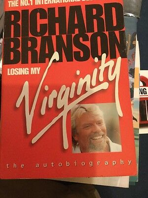 Losing My Virginity: The Autobiography by Sir Richard Branson (Paperback, 1999)