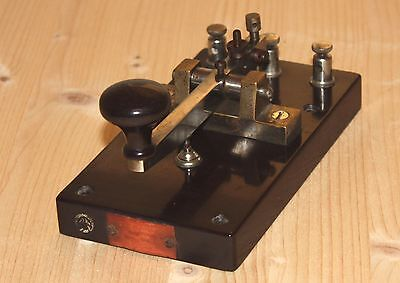 Japanese Early Military morse telegraph key in good condition. No Reserve