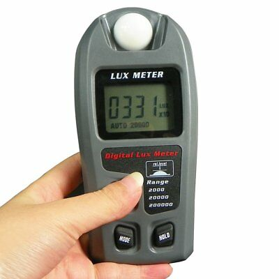 Leaton Digital Luxmeter / Digital Illuminance Light Meter lux meter with LCD