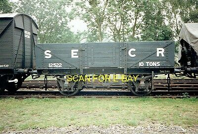 Railway Photo Preserved South Eastern & Chatham Railway 10T Open Wagon 1990