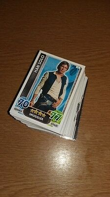 Star Wars Force Attax - The Force Awakens, 122 Cards