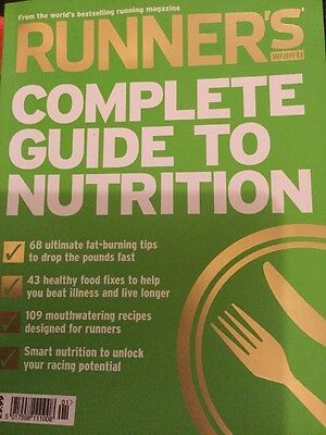 Runners World Guide To Nutrition Paperback