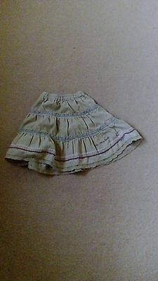 Girls Debenhams Corduoy Fully Elasticated Waist Skirt Age 12-18 Months