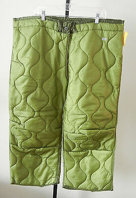 Cold Weather Liner For M65 Pants Large Long