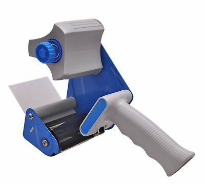 Acko 3-Inch Blue Hand-Held Industrial Packaging Sealing Tape Dispenser Gun
