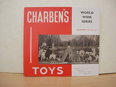 Printed Copy Of Charben's Toys /soldiers Trade Catalogue