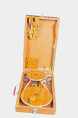 Traditional Box Charkha  or spinning wheel crafted in India New