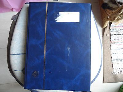 100's GB stamps in large stock book