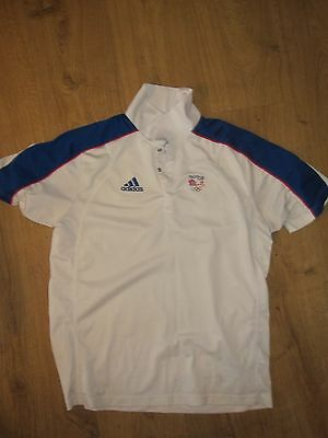 Team GB Beijing Olympic Games casual polo shirt.
