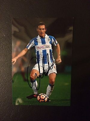 Dean Whitehead Huddersfield Town 6x4 Hand Signed photo