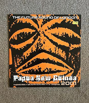 "The Future Sound Of London Papua New Guinea 2001 12"" Jumpin' & Pumpin' 2001"