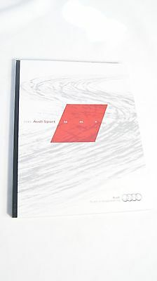 2015 Audi Sport Exclusive Brochure R8 Rs7 Rs5 S8 S7 S6 S5 S4 Sq5