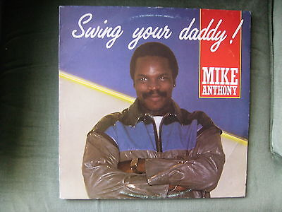 """12"""" 45rpm AUTOGRAPHED  DEMO MIKE ANTHONY - SWING YOUR DADDY!"""