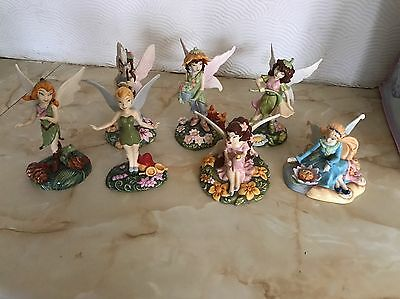 Royal Doulton Disney Fairies (Tinker Bell And Friends, Complete Set)