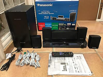 Panasonic SC-BT200 Blu-Ray Home Theater System.
