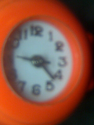 Orange ring watch