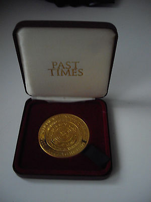 Official Greenwich Millennium Mint Medallion 2000 Past Times